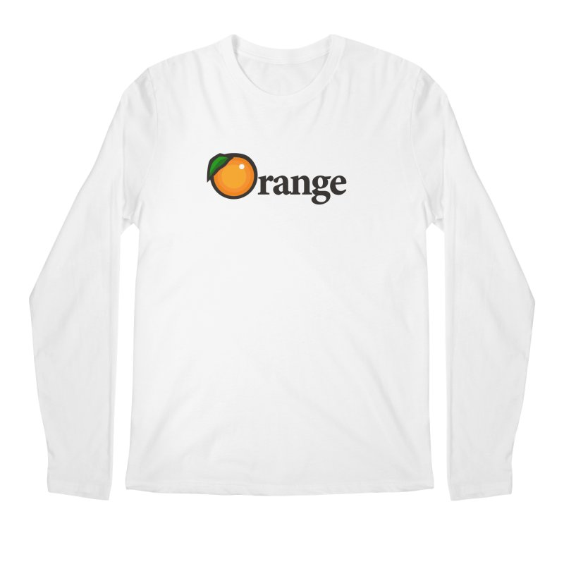 Oh-range! Men's Longsleeve T-Shirt by