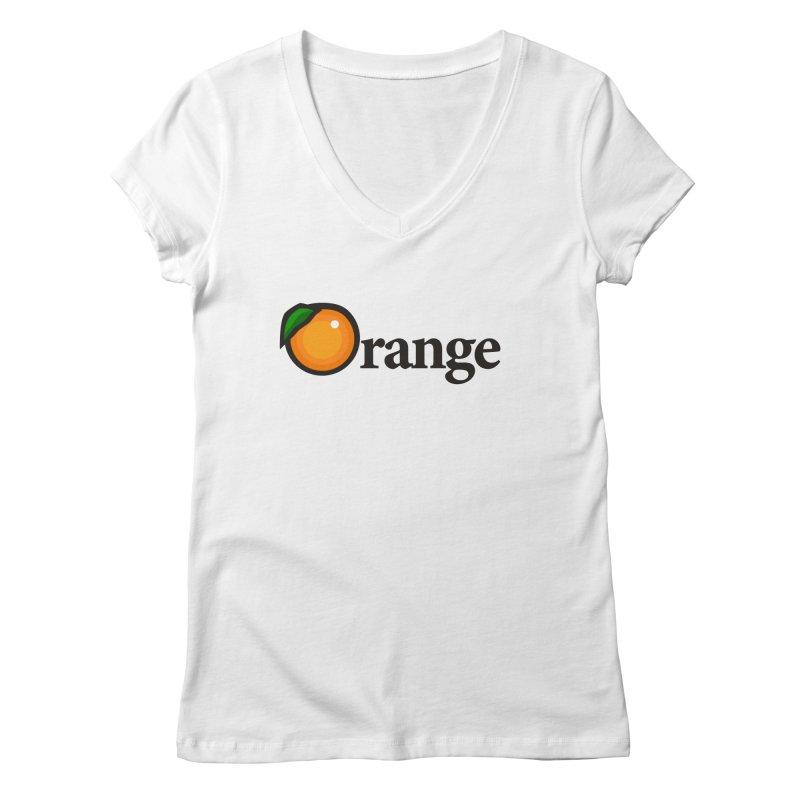 Oh-range! Women's V-Neck by