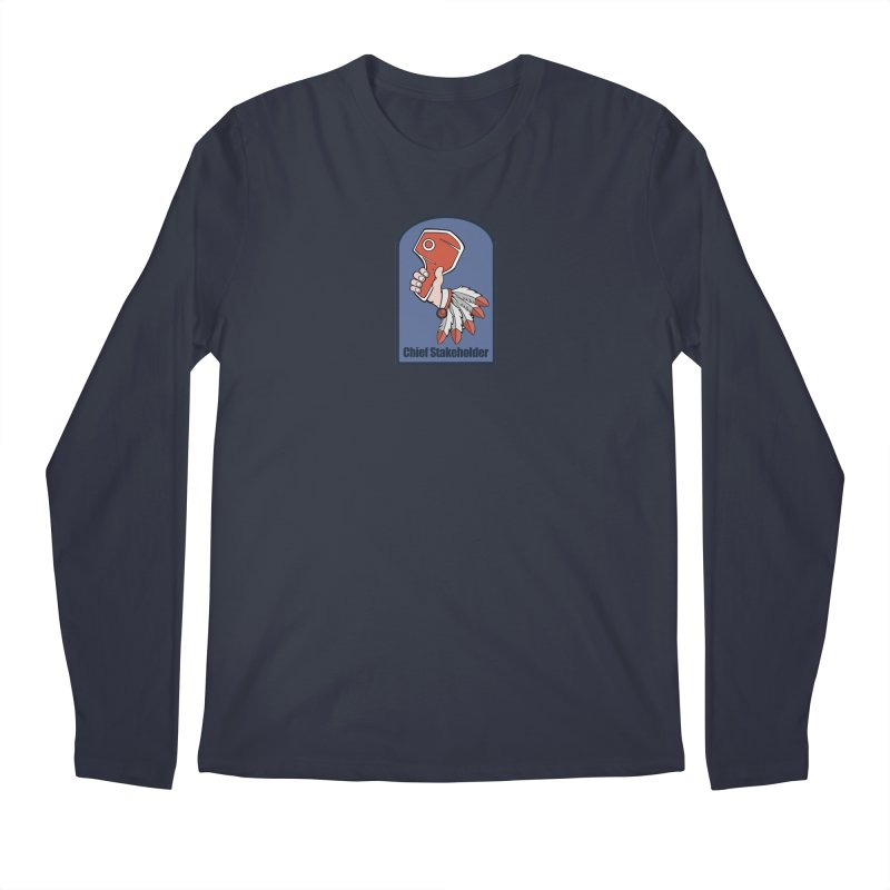 Chief Stakeholder Men's Longsleeve T-Shirt by