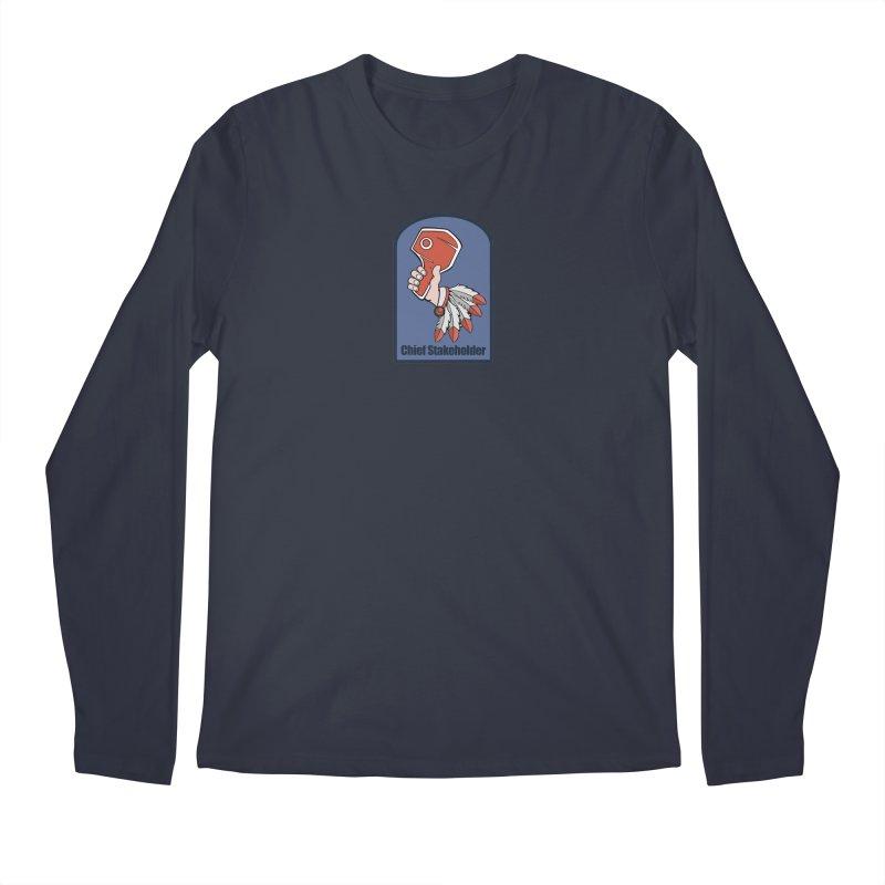 Chief Stakeholder Men's Regular Longsleeve T-Shirt by
