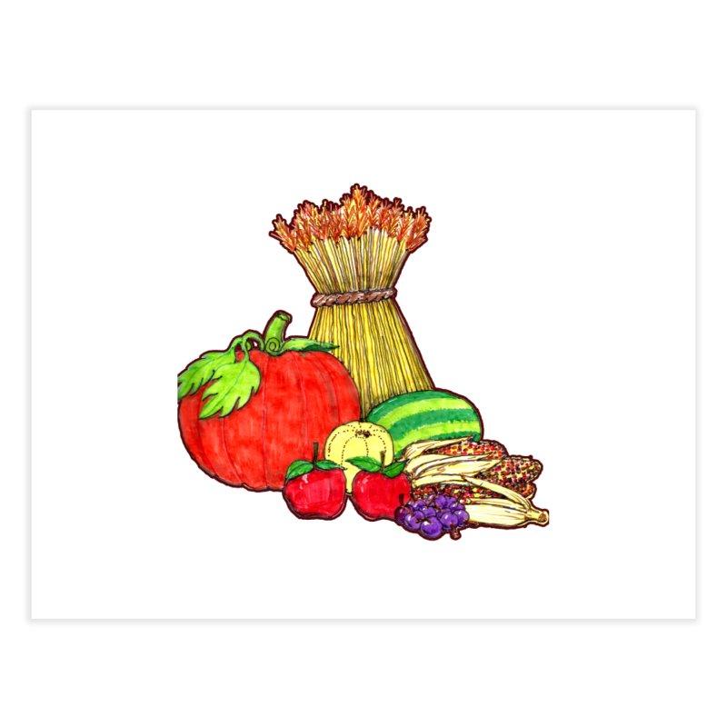Harvest Fruit Home Fine Art Print by