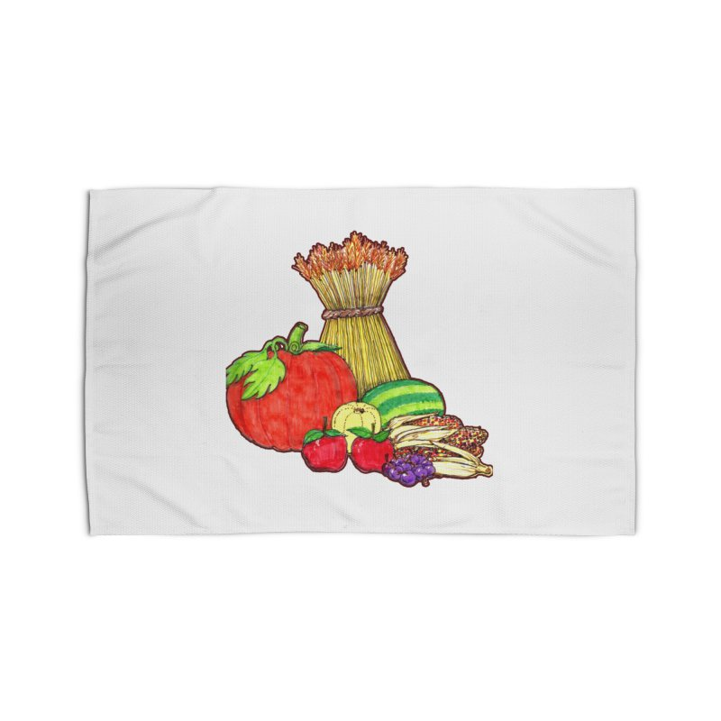 Harvest Fruit Home Rug by