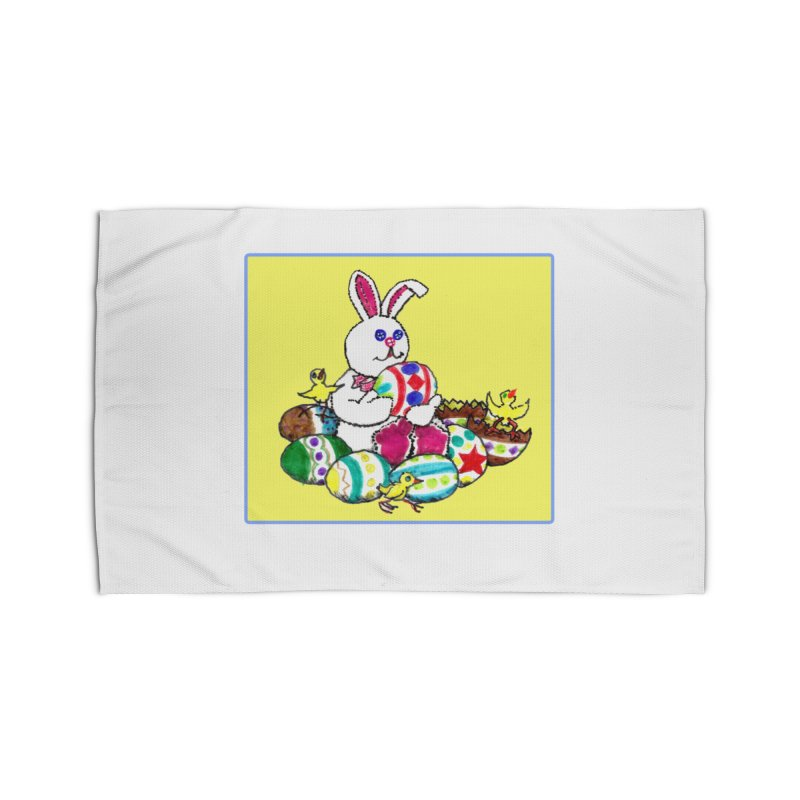 Easter Chicks Everywhere! Home Rug by