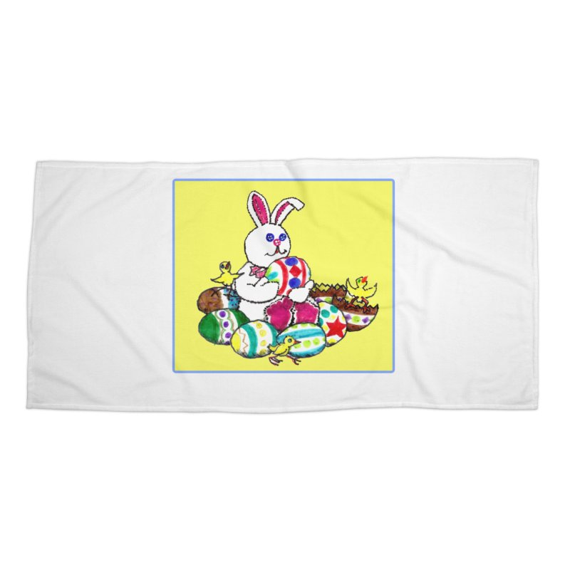 Easter Chicks Everywhere! Accessories Beach Towel by