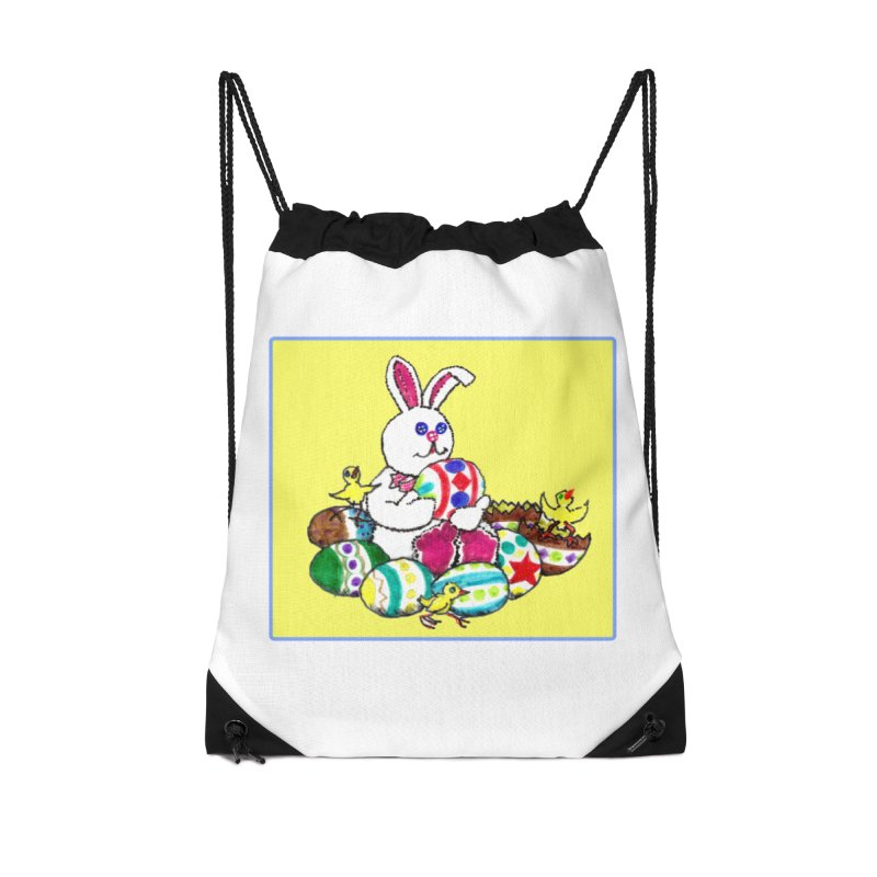 Easter Chicks Everywhere! Accessories Drawstring Bag Bag by