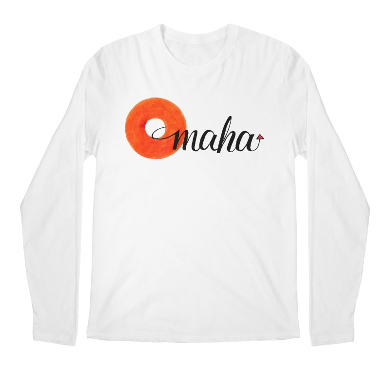 Omaha Men's Regular Longsleeve T-Shirt by