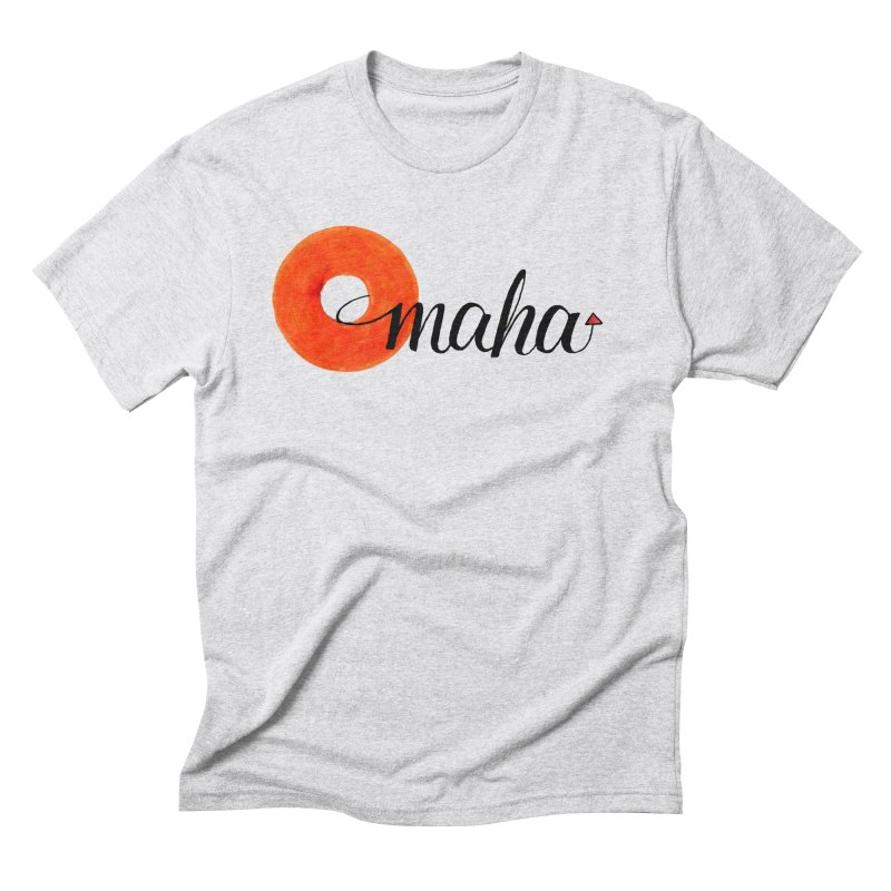 Omaha Men's Triblend T-Shirt by