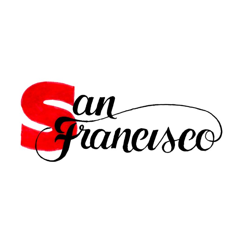 San Francisco Women's Fitted T-Shirt by