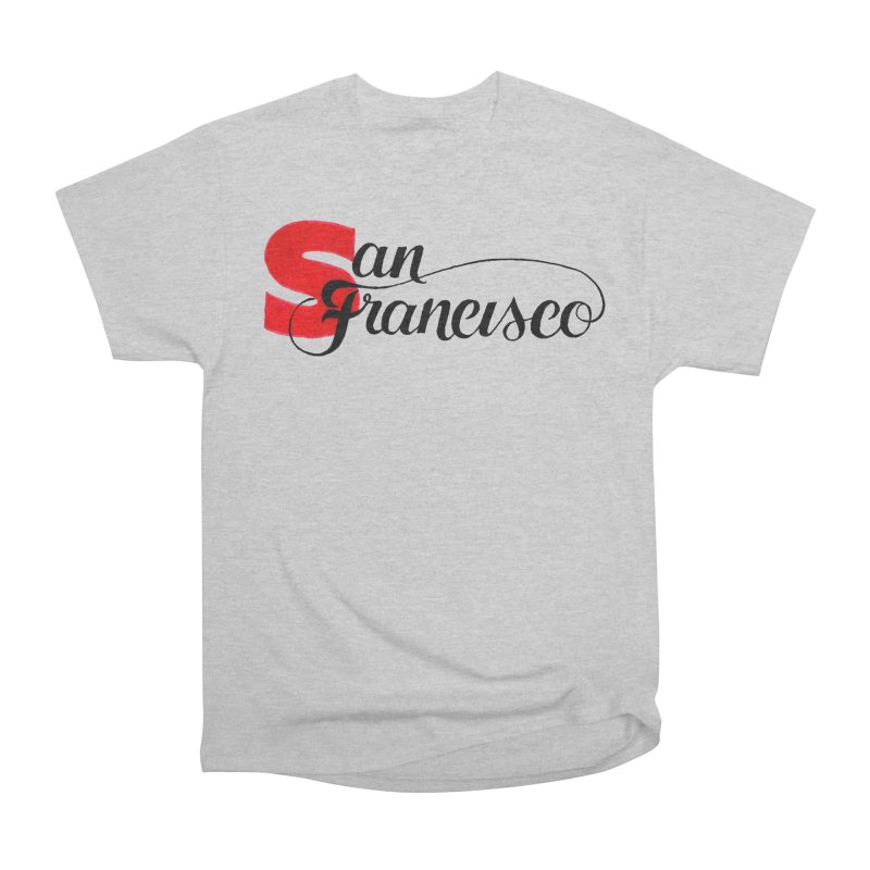 San Francisco Men's Heavyweight T-Shirt by