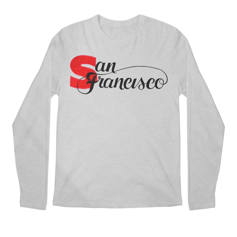San Francisco Men's Regular Longsleeve T-Shirt by