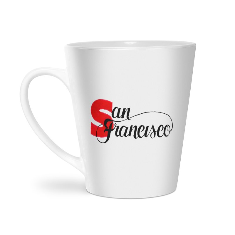 San Francisco Accessories Latte Mug by