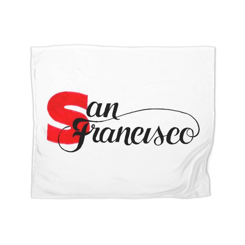 San Francisco Home Blanket by