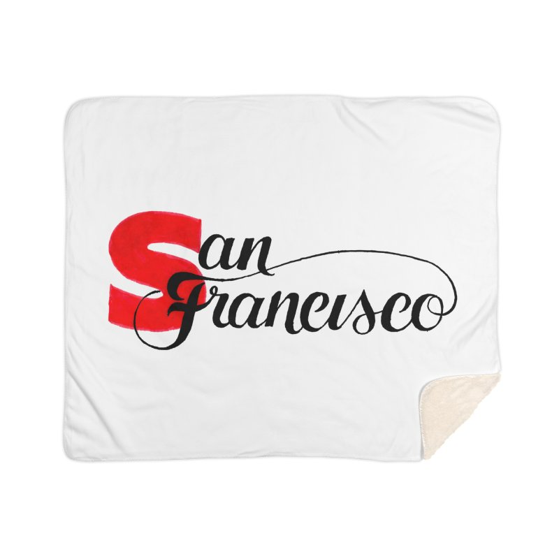 San Francisco Home Sherpa Blanket Blanket by