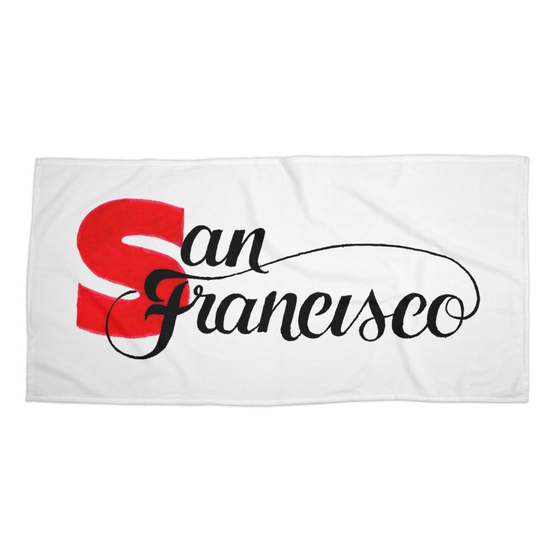 San Francisco Accessories Beach Towel by