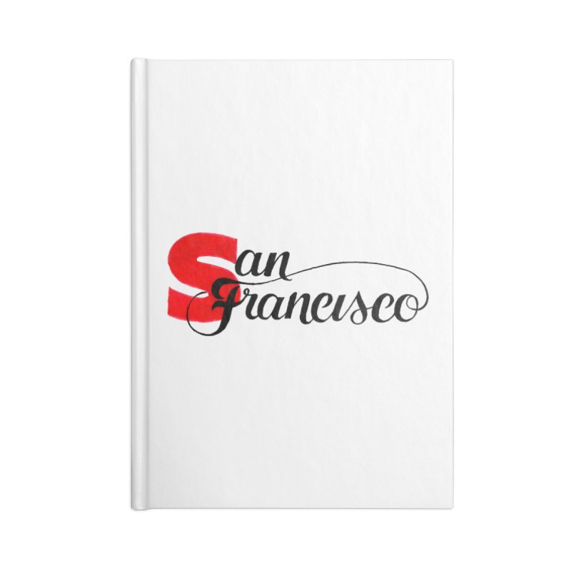 San Francisco Accessories Blank Journal Notebook by