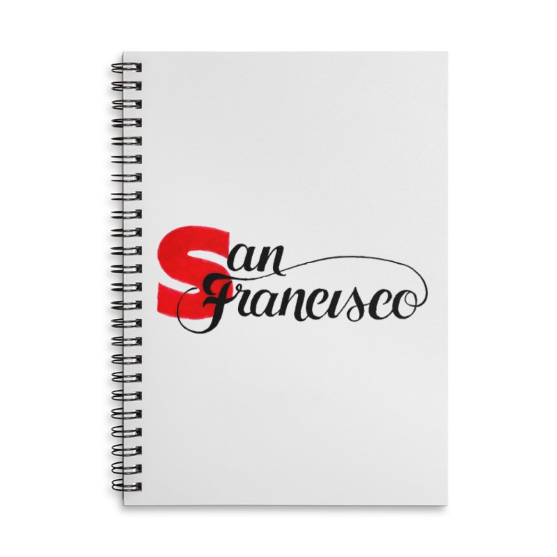 San Francisco Accessories Lined Spiral Notebook by