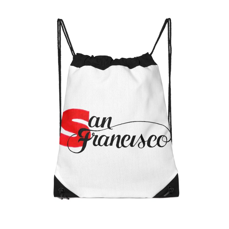 San Francisco Accessories Drawstring Bag Bag by