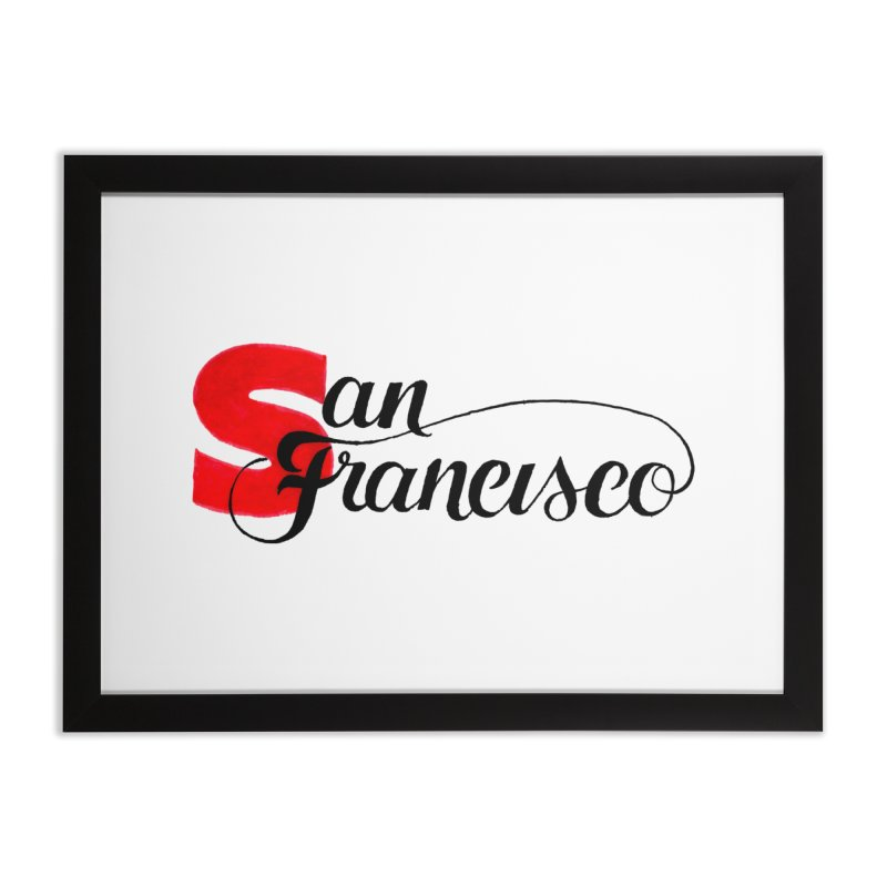 San Francisco Home Framed Fine Art Print by
