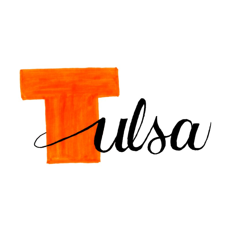 Tulsa  Home Throw Pillow by