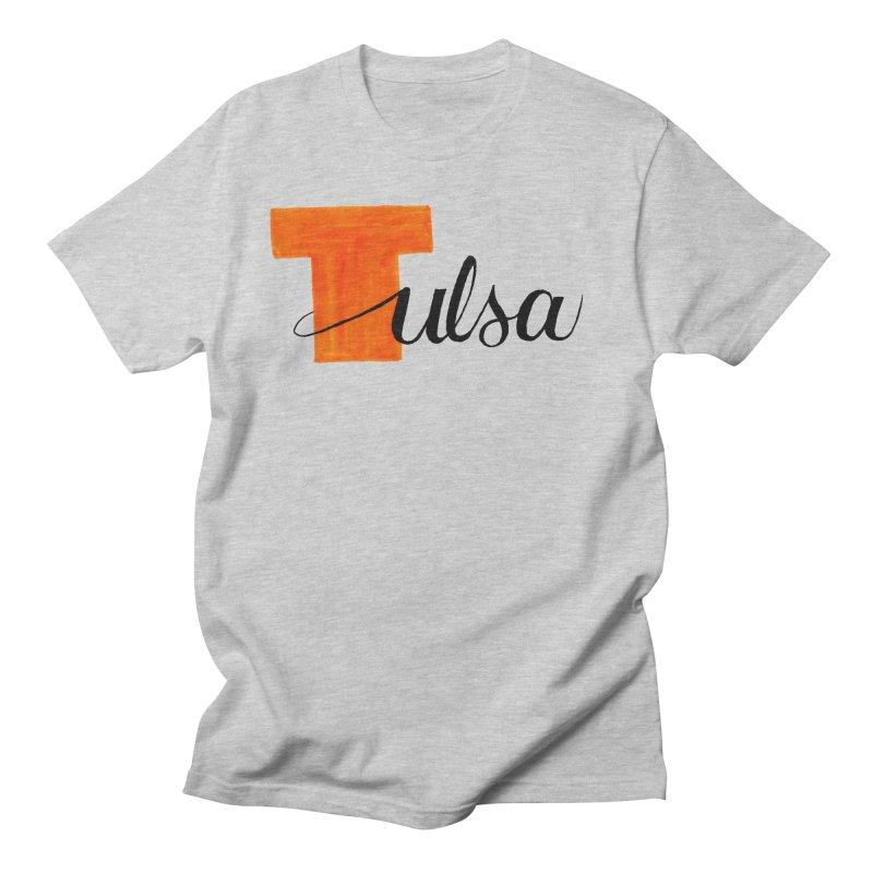 Tulsa  Men's T-Shirt by