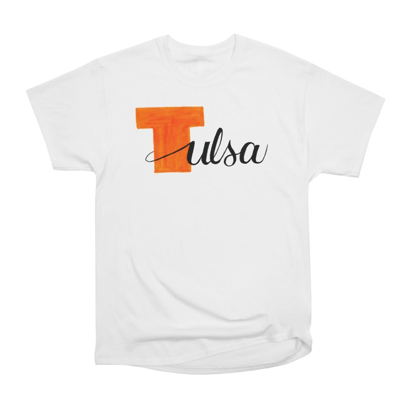 Tulsa  Men's Heavyweight T-Shirt by