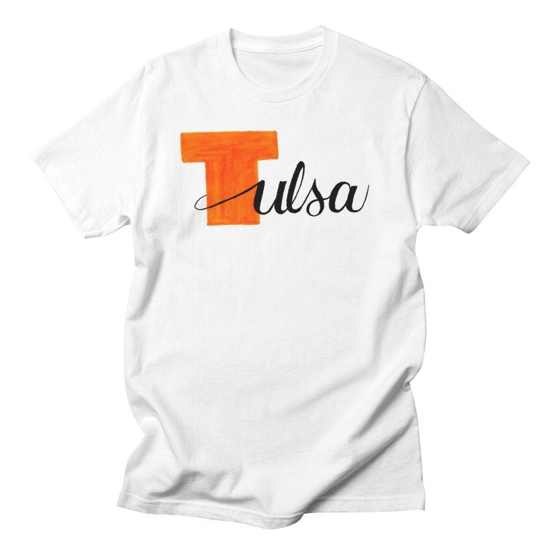 Tulsa  Men's Regular T-Shirt by