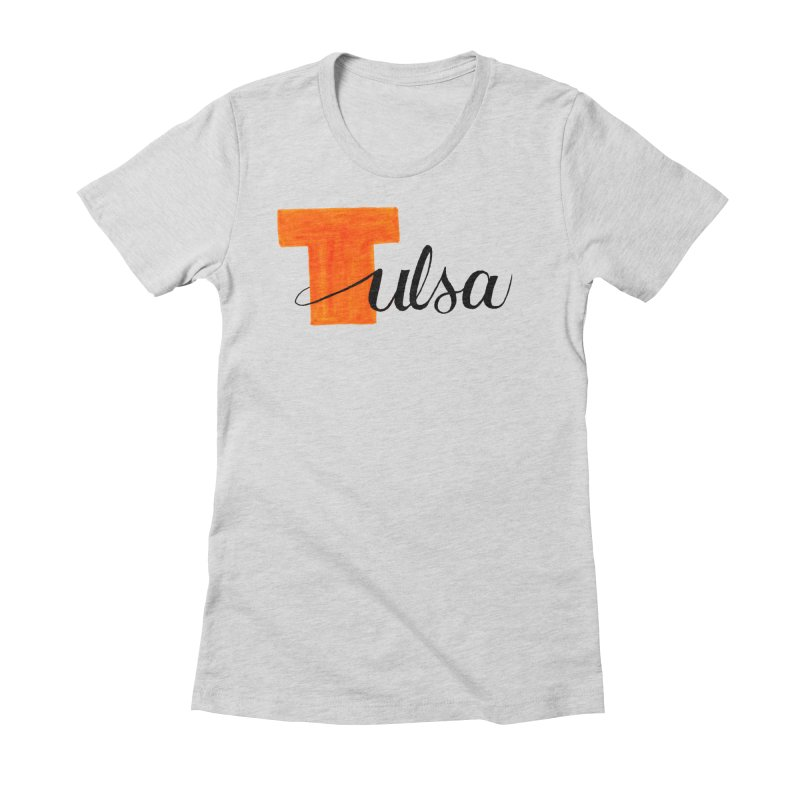 Tulsa  Women's Fitted T-Shirt by