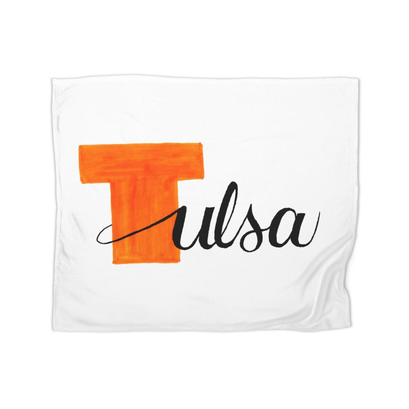Tulsa  Home Blanket by
