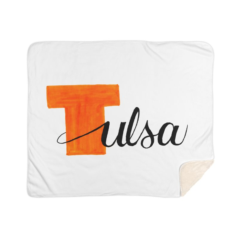 Tulsa  Home Sherpa Blanket Blanket by