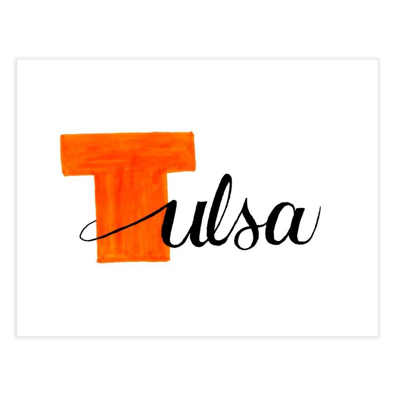 Tulsa  Home Fine Art Print by