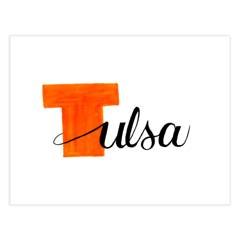 Tulsa  Home Fine Art Print by