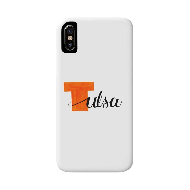 Tulsa  Accessories Phone Case by