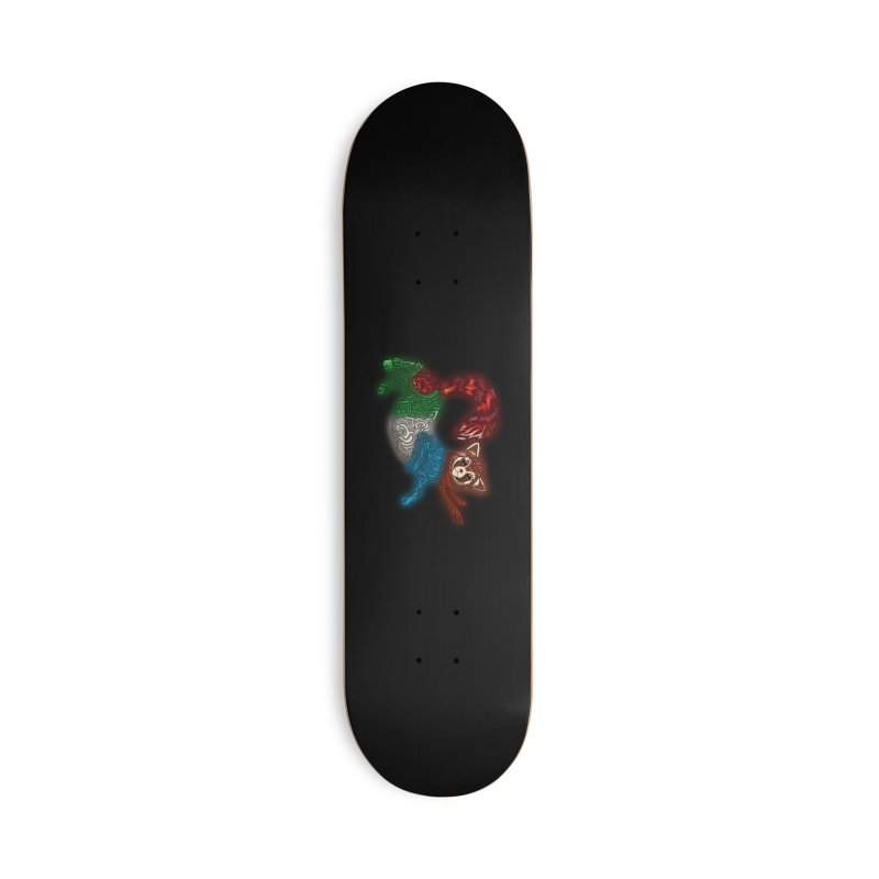 FIRE FERRET Accessories Skateboard by greenlambart's Artist Shop