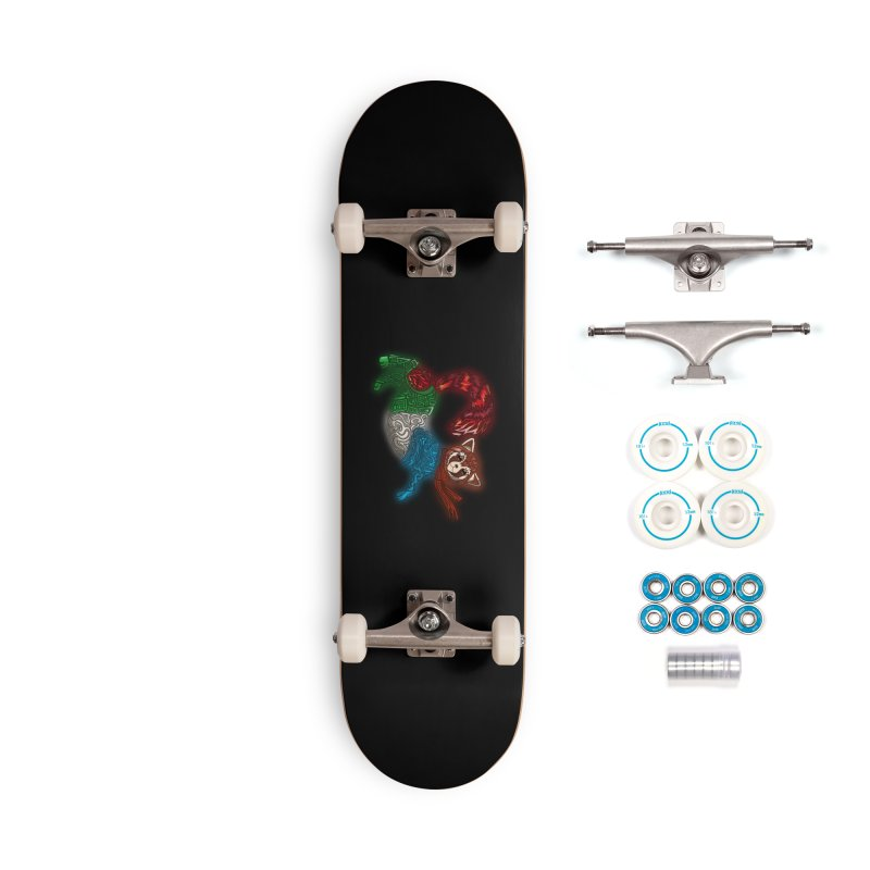 FIRE FERRET Accessories Skateboard by greenlambart's Artist Shop
