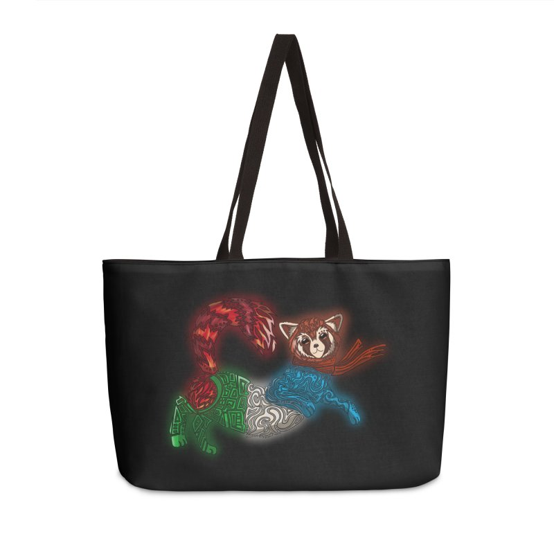 FIRE FERRET Accessories Weekender Bag Bag by greenlambart's Artist Shop