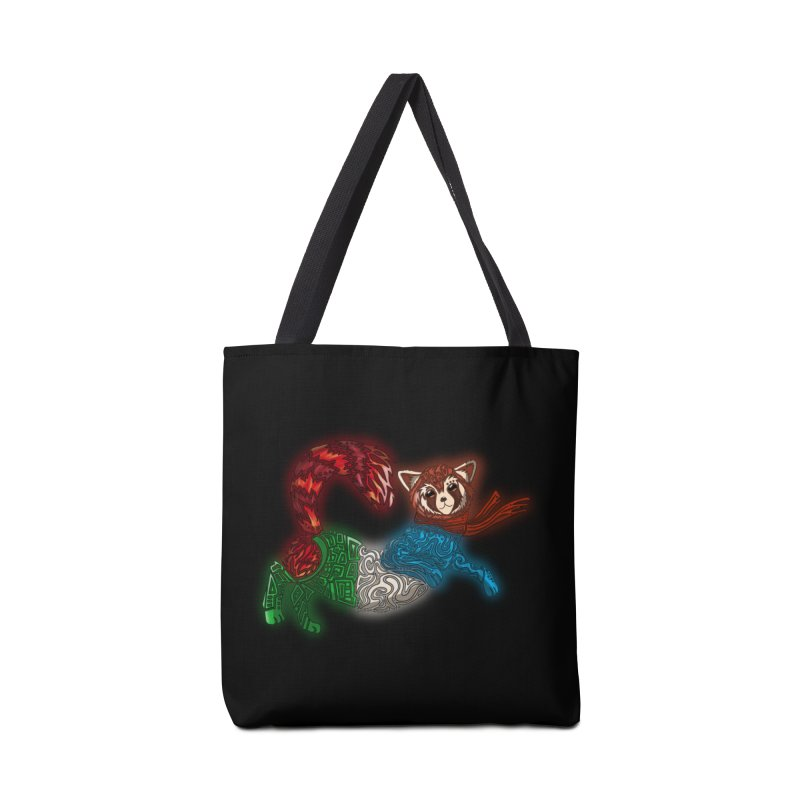 FIRE FERRET Accessories Bag by greenlambart's Artist Shop