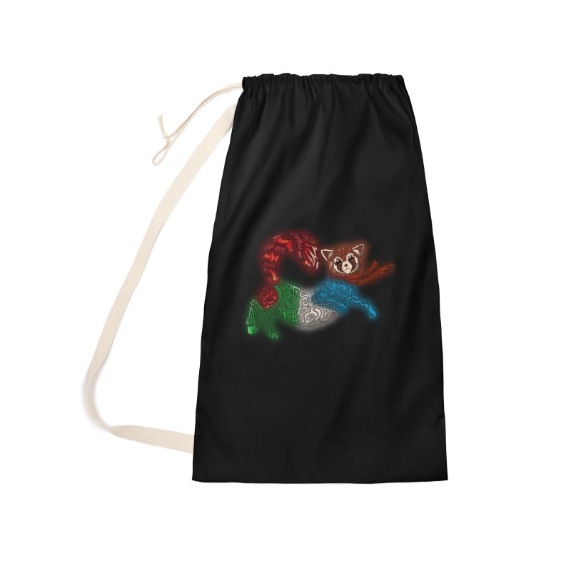 FIRE FERRET Accessories Laundry Bag Bag by greenlambart's Artist Shop