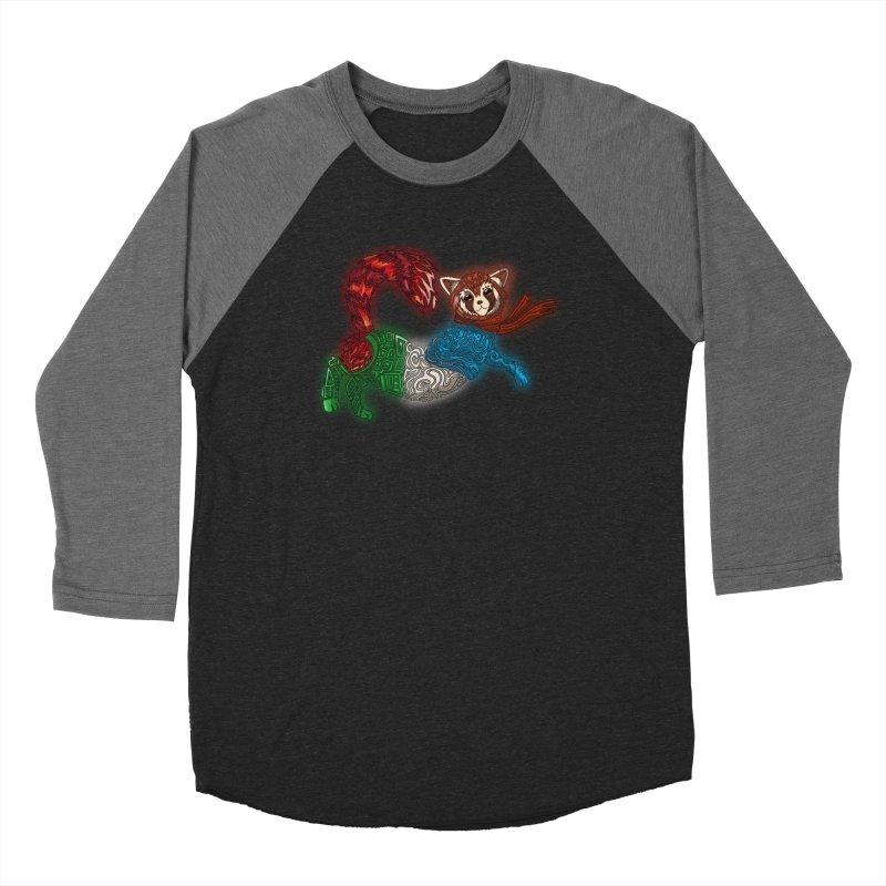 FIRE FERRET Women's Longsleeve T-Shirt by greenlambart's Artist Shop