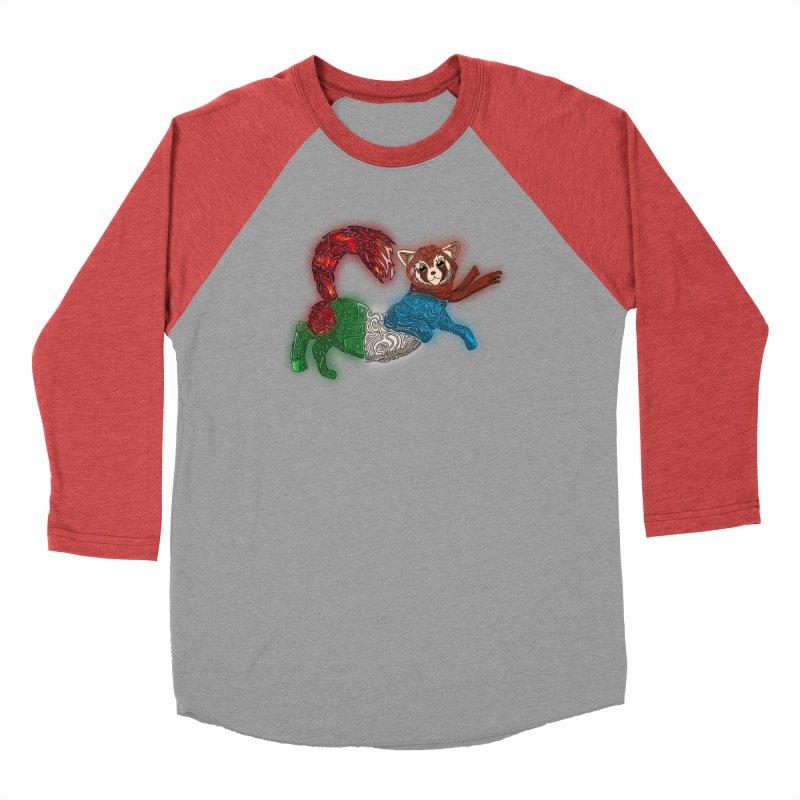 FIRE FERRET Men's Longsleeve T-Shirt by greenlambart's Artist Shop