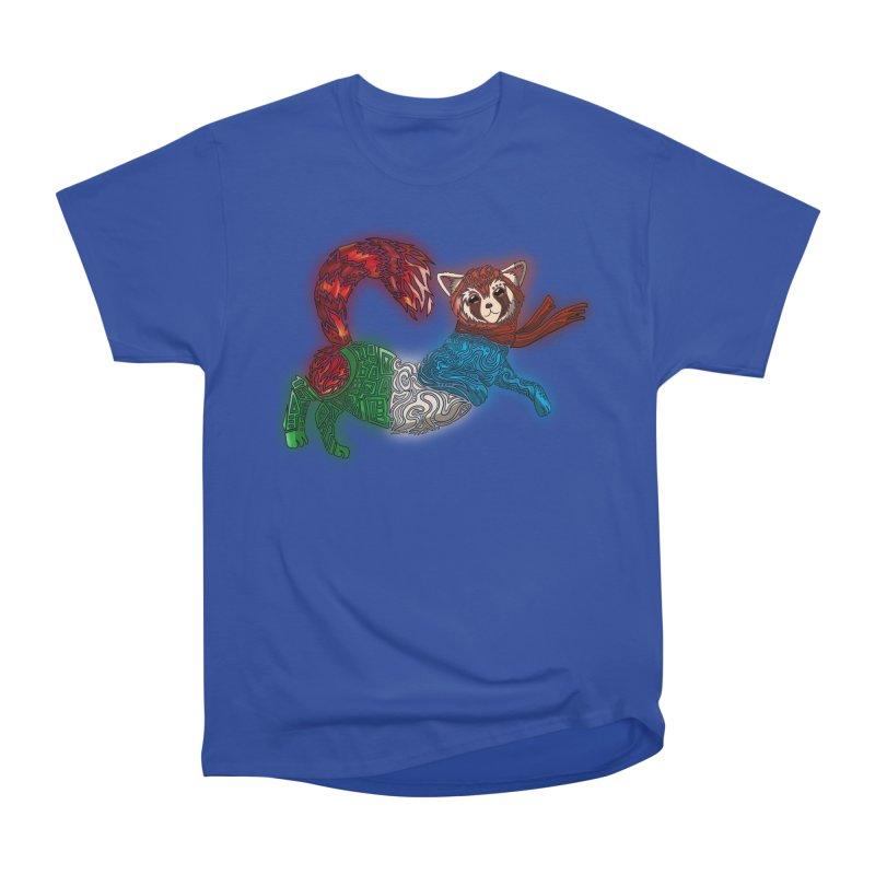 FIRE FERRET Men's Heavyweight T-Shirt by greenlambart's Artist Shop