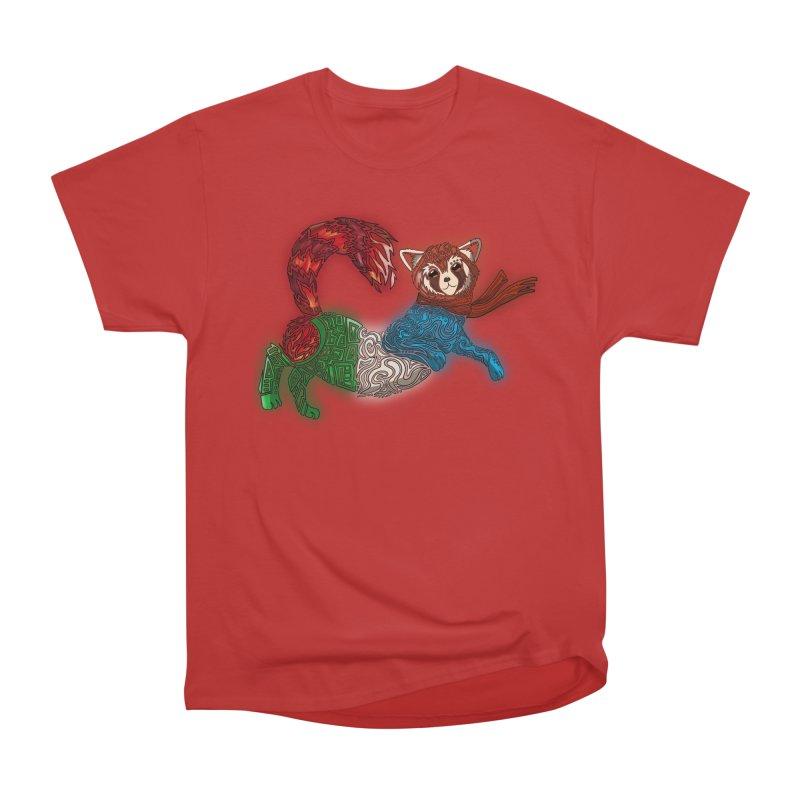 FIRE FERRET Women's Heavyweight Unisex T-Shirt by greenlambart's Artist Shop