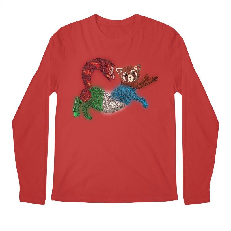 FIRE FERRET Men's Regular Longsleeve T-Shirt by greenlambart's Artist Shop