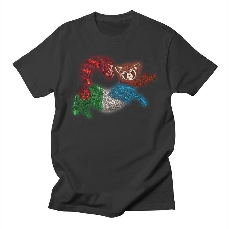 FIRE FERRET Women's Regular Unisex T-Shirt by greenlambart's Artist Shop