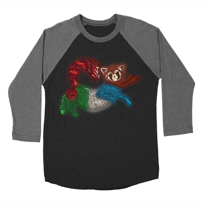 FIRE FERRET Women's Baseball Triblend Longsleeve T-Shirt by greenlambart's Artist Shop