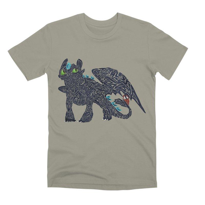 TOOTHLESS Men's Premium T-Shirt by greenlambart's Artist Shop