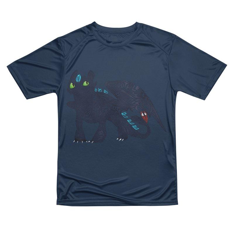 TOOTHLESS Men's Performance T-Shirt by greenlambart's Artist Shop
