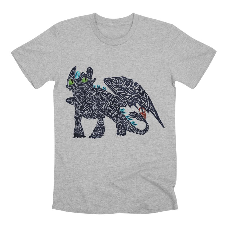 TOOTHLESS Men's T-Shirt by greenlambart's Artist Shop