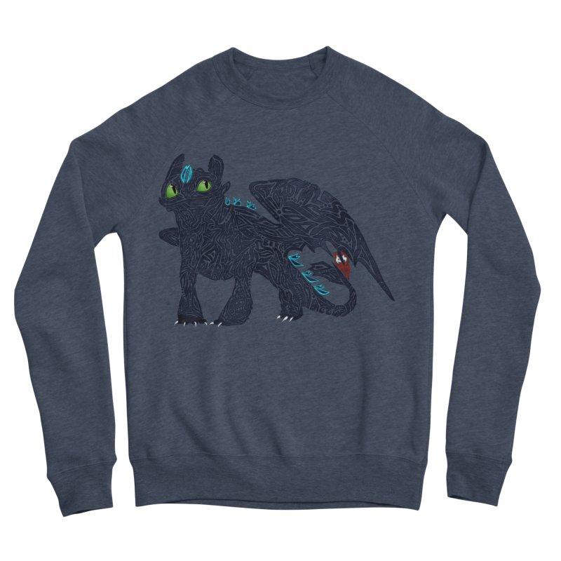 TOOTHLESS Men's Sponge Fleece Sweatshirt by greenlambart's Artist Shop