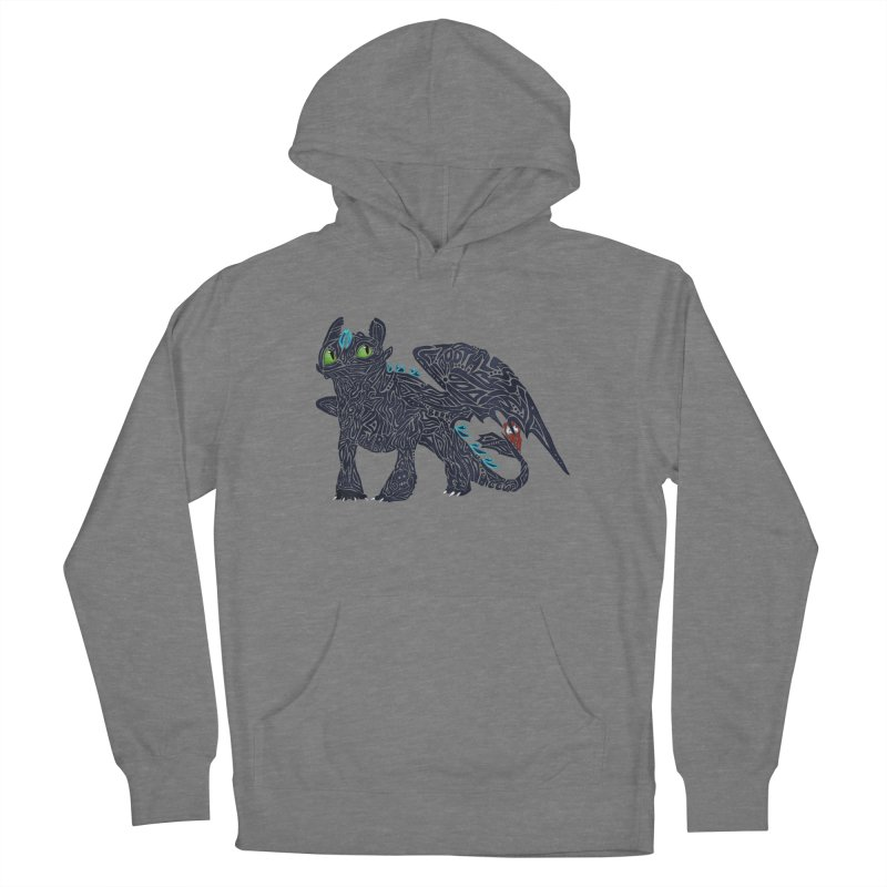 TOOTHLESS Women's French Terry Pullover Hoody by greenlambart's Artist Shop