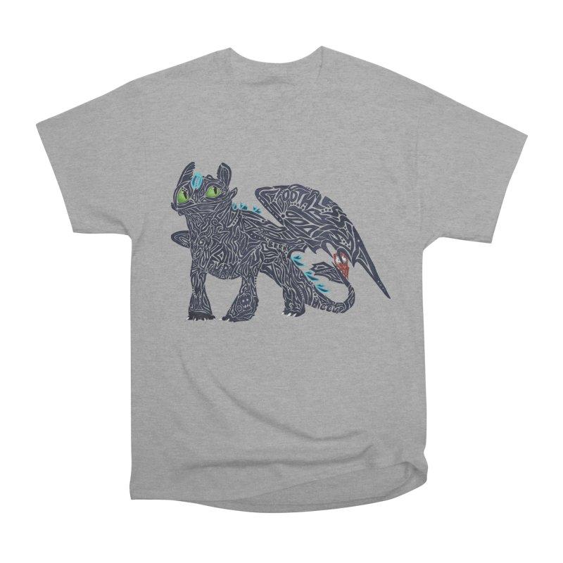 TOOTHLESS Men's Heavyweight T-Shirt by greenlambart's Artist Shop